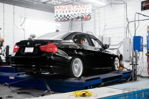 BMW 335i on Mustang AWD 4WD Dyno Dynamometer