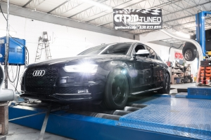 Audi S on Mustang AWD 4WD Dyno Dynamometer