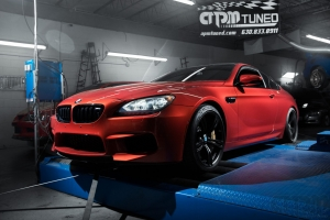 BMW Red M6