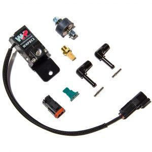 WHP Boost Control Solenoid Kit- Black Fittings and Bracket